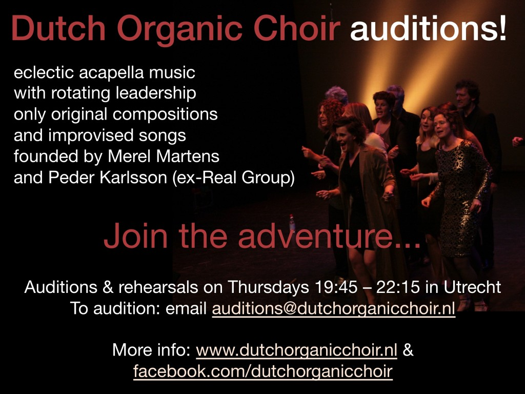 DOC auditions flyer 2015 - no date, brief