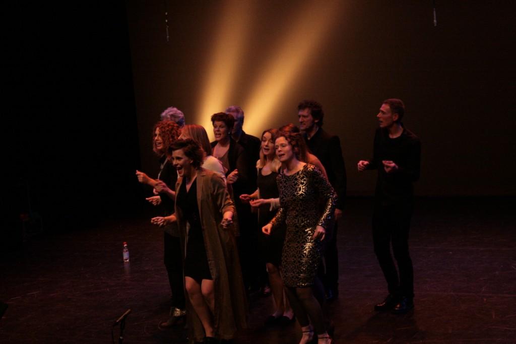 Dutch Organic Choir in action